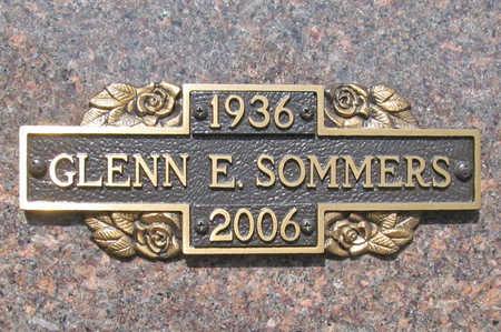 SOMMERS, GLENN E - Benton County, Arkansas | GLENN E SOMMERS - Arkansas Gravestone Photos