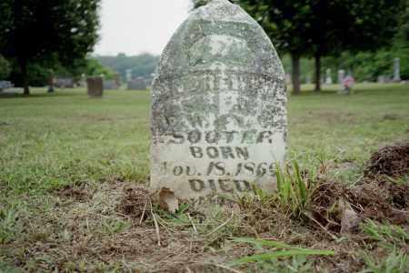 SOOTER, E. W. - Benton County, Arkansas | E. W. SOOTER - Arkansas Gravestone Photos