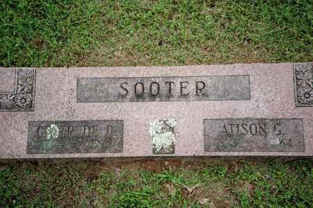 SOOTER, ATISON G. - Benton County, Arkansas | ATISON G. SOOTER - Arkansas Gravestone Photos