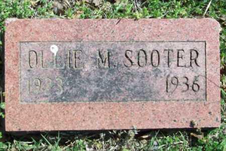 SOOTER, OLLIE M. - Benton County, Arkansas | OLLIE M. SOOTER - Arkansas Gravestone Photos