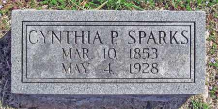 SPARKS, CYNTHIA P - Benton County, Arkansas | CYNTHIA P SPARKS - Arkansas Gravestone Photos