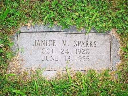 SPARKS, JANICE M. - Benton County, Arkansas | JANICE M. SPARKS - Arkansas Gravestone Photos