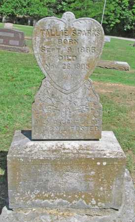 SPARKS, TALLIE - Benton County, Arkansas   TALLIE SPARKS - Arkansas Gravestone Photos