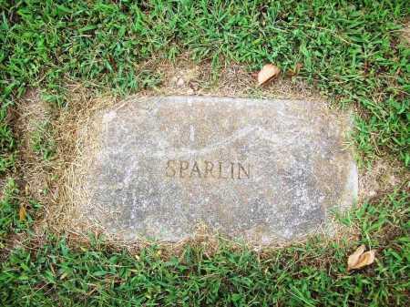 SPARLIN, UNKNOWN - Benton County, Arkansas | UNKNOWN SPARLIN - Arkansas Gravestone Photos