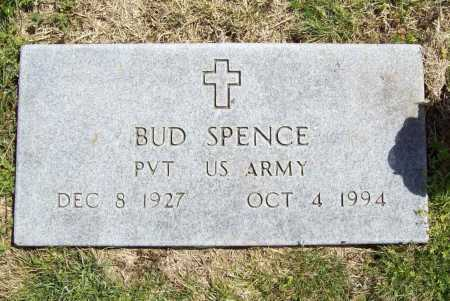 SPENCE (VETERAN), BUD - Benton County, Arkansas   BUD SPENCE (VETERAN) - Arkansas Gravestone Photos