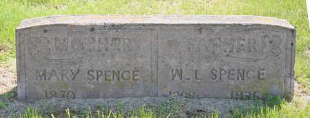 SPENCE, W. L. - Benton County, Arkansas | W. L. SPENCE - Arkansas Gravestone Photos
