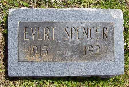 SPENCER, EVERT - Benton County, Arkansas   EVERT SPENCER - Arkansas Gravestone Photos