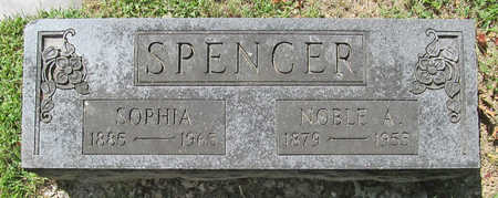 SPENCER, NOBLE A - Benton County, Arkansas | NOBLE A SPENCER - Arkansas Gravestone Photos
