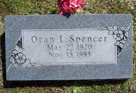 SPENCER, ORAN L. - Benton County, Arkansas | ORAN L. SPENCER - Arkansas Gravestone Photos