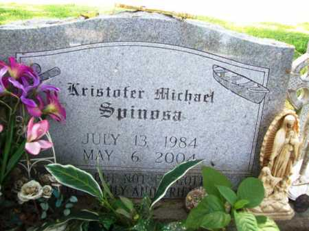 SPINOSA, KRISTOFER MICHAEL - Benton County, Arkansas | KRISTOFER MICHAEL SPINOSA - Arkansas Gravestone Photos