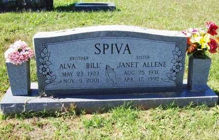 "SPIVA, ALVA LEE  ""BILL"" - Benton County, Arkansas 