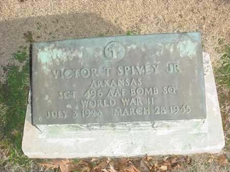 SPIVEY, JR (VETERAN WWII), VICTOR T - Benton County, Arkansas | VICTOR T SPIVEY, JR (VETERAN WWII) - Arkansas Gravestone Photos