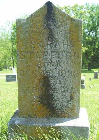 STAFFORD, SARAH - Benton County, Arkansas | SARAH STAFFORD - Arkansas Gravestone Photos