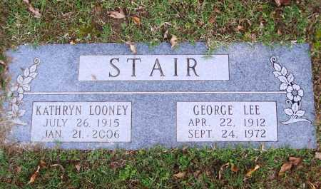 LOONEY STAIR, VIRGIE KATHRYN - Benton County, Arkansas | VIRGIE KATHRYN LOONEY STAIR - Arkansas Gravestone Photos