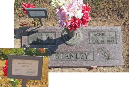 STANLEY, ACHEL L. - Benton County, Arkansas | ACHEL L. STANLEY - Arkansas Gravestone Photos