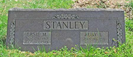 STANLEY, ERSIE M - Benton County, Arkansas | ERSIE M STANLEY - Arkansas Gravestone Photos