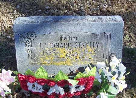 STANLEY, J. LEONARD - Benton County, Arkansas | J. LEONARD STANLEY - Arkansas Gravestone Photos