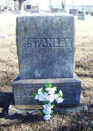 STANLEY, S. E. - Benton County, Arkansas | S. E. STANLEY - Arkansas Gravestone Photos