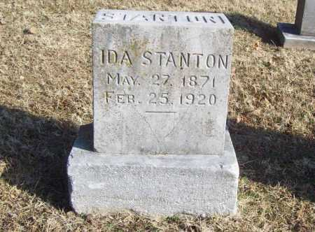 STANTON, IDA - Benton County, Arkansas | IDA STANTON - Arkansas Gravestone Photos