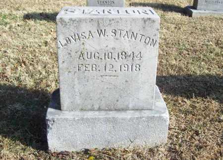 STANTON, LOVISA W. - Benton County, Arkansas | LOVISA W. STANTON - Arkansas Gravestone Photos