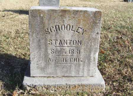 STANTON, SCHOOLEY - Benton County, Arkansas | SCHOOLEY STANTON - Arkansas Gravestone Photos