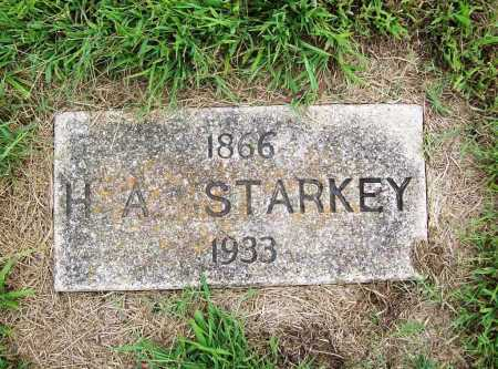 STARKEY, H. A. - Benton County, Arkansas | H. A. STARKEY - Arkansas Gravestone Photos