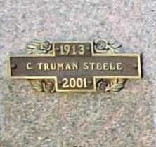STEELE, CLELLIE TRUMAN - Benton County, Arkansas | CLELLIE TRUMAN STEELE - Arkansas Gravestone Photos