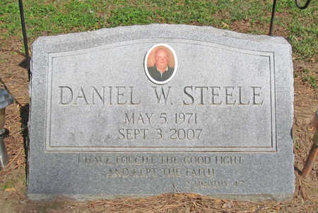 STEELE, DANIEL WAYNE - Benton County, Arkansas | DANIEL WAYNE STEELE - Arkansas Gravestone Photos