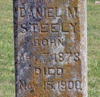 STEELY, DANIEL M. (CLOSEUP) - Benton County, Arkansas | DANIEL M. (CLOSEUP) STEELY - Arkansas Gravestone Photos