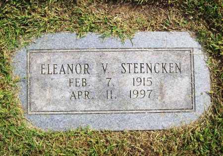 STEENCKEN, ELEANOR V. - Benton County, Arkansas | ELEANOR V. STEENCKEN - Arkansas Gravestone Photos