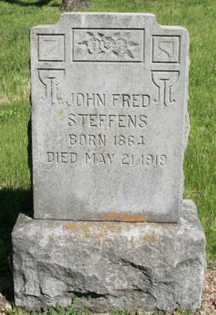 STEFFENS, JOHN FRED - Benton County, Arkansas | JOHN FRED STEFFENS - Arkansas Gravestone Photos