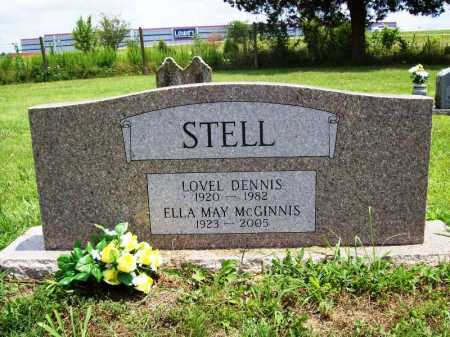 MCGINNIS STELL, ELLA MAY - Benton County, Arkansas | ELLA MAY MCGINNIS STELL - Arkansas Gravestone Photos