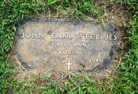 STELLJES (VETERAN KOR), JOHN EARL - Benton County, Arkansas | JOHN EARL STELLJES (VETERAN KOR) - Arkansas Gravestone Photos