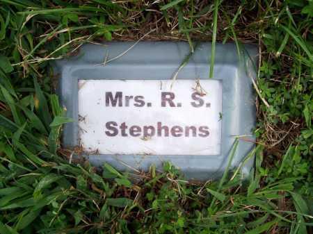 STEPHENS, MRS. R. S. - Benton County, Arkansas | MRS. R. S. STEPHENS - Arkansas Gravestone Photos