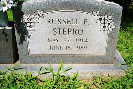 STEPRO, RUSSELL F. - Benton County, Arkansas | RUSSELL F. STEPRO - Arkansas Gravestone Photos