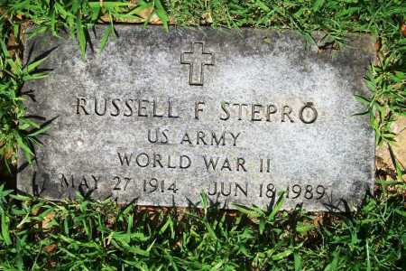 STEPRO (VETERAN WWII), RUSSELL F. - Benton County, Arkansas | RUSSELL F. STEPRO (VETERAN WWII) - Arkansas Gravestone Photos