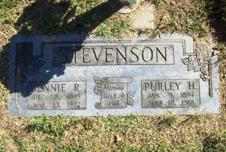 STEVENSON, JENNIE R. - Benton County, Arkansas | JENNIE R. STEVENSON - Arkansas Gravestone Photos