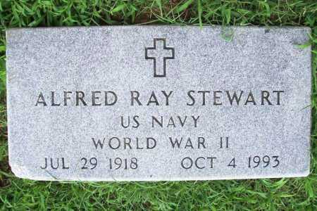 STEWART (VETERAN WWII), ALFRED RAY - Benton County, Arkansas | ALFRED RAY STEWART (VETERAN WWII) - Arkansas Gravestone Photos