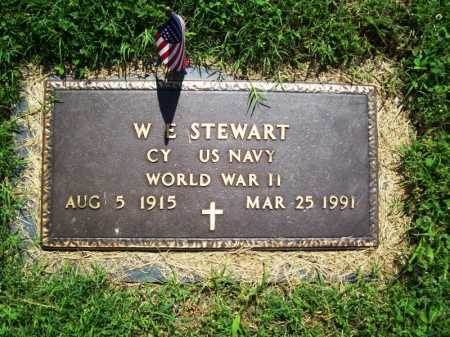 STEWART (VETERAN WWII), W. E. - Benton County, Arkansas | W. E. STEWART (VETERAN WWII) - Arkansas Gravestone Photos