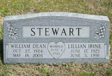 STEWART, LILLIAN IRINE - Benton County, Arkansas | LILLIAN IRINE STEWART - Arkansas Gravestone Photos