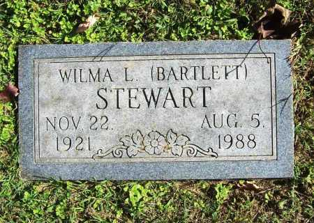 BARTLETT STEWART, WILMA L. - Benton County, Arkansas | WILMA L. BARTLETT STEWART - Arkansas Gravestone Photos