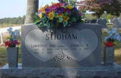 STIDHAM, LAWRENCE RAY - Benton County, Arkansas | LAWRENCE RAY STIDHAM - Arkansas Gravestone Photos