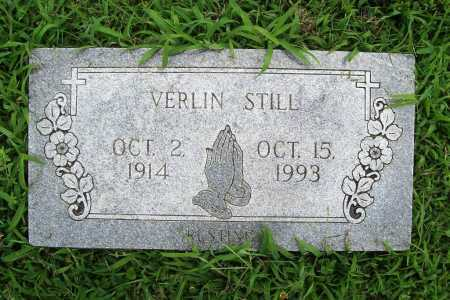 STILL, VERLIN - Benton County, Arkansas | VERLIN STILL - Arkansas Gravestone Photos