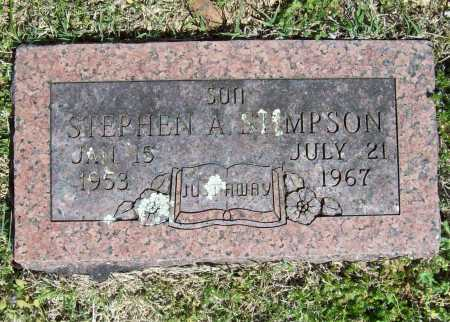 STIMPSON, STEPHEN A. - Benton County, Arkansas | STEPHEN A. STIMPSON - Arkansas Gravestone Photos