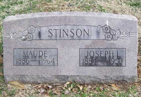 STINSON, JOSEPH L. - Benton County, Arkansas | JOSEPH L. STINSON - Arkansas Gravestone Photos