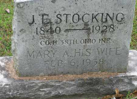 STOCKING, MARY A. - Benton County, Arkansas | MARY A. STOCKING - Arkansas Gravestone Photos