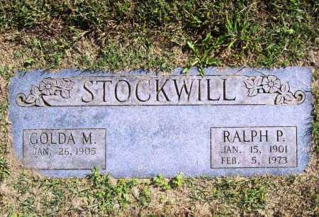 STOCKWILL, RALPH P. - Benton County, Arkansas | RALPH P. STOCKWILL - Arkansas Gravestone Photos