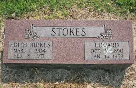 BIRKES STOKES, EDITH - Benton County, Arkansas | EDITH BIRKES STOKES - Arkansas Gravestone Photos