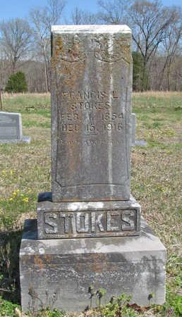 STOKES, FRANCIS L - Benton County, Arkansas | FRANCIS L STOKES - Arkansas Gravestone Photos