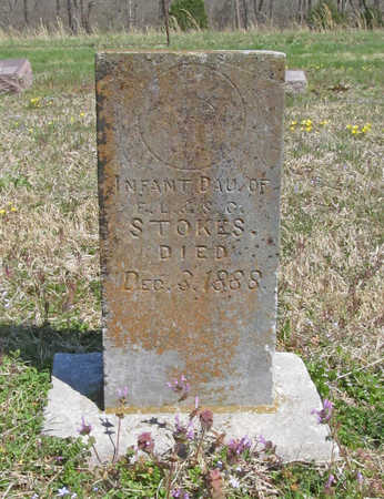STOKES, INFANT DAUGHTER - Benton County, Arkansas   INFANT DAUGHTER STOKES - Arkansas Gravestone Photos